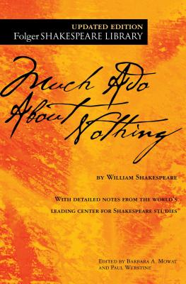 Much Ado About Nothing (Folger Shakespeare Library) Cover Image