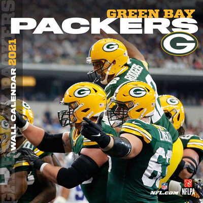 Green Bay Packers 2021 12x12 Team Wall Calendar Cover Image