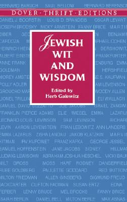 Jewish Wit and Wisdom (Dover Thrift Editions) Cover Image