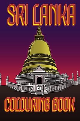 Sri Lanka Colouring Book: Temple UK Edition Cover Image