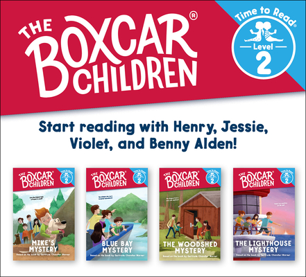 The Boxcar Children Early Reader Set #2 (the Boxcar Children: Time to Read, Level 2) cover