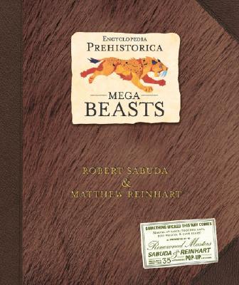 Encyclopedia Prehistorica Mega-Beasts Pop-Up Cover