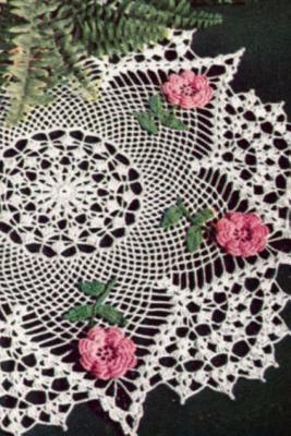 Journal: Irish Rose Crochet Doily Cover Image
