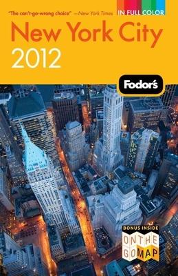 Fodor's New York City 2012 Cover