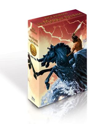 The Heroes of Olympus - Book Three The Mark of Athena (Special Limited Edition) Cover Image
