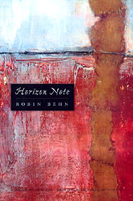 Horizon Note (Wisconsin Poetry Series #2001) Cover Image