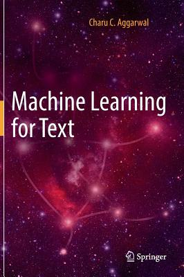 Machine Learning for Text Cover Image