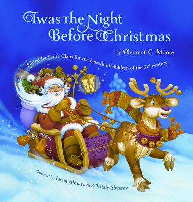 Twas the Night Before Christmas Cover Image