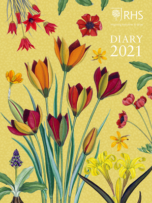 Royal Horticultural Society Desk Diary 2021 Cover Image
