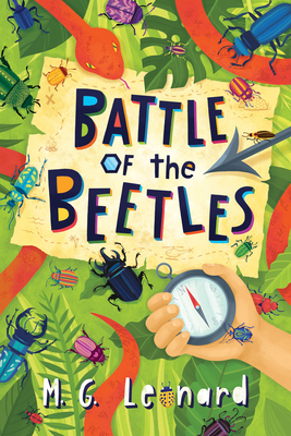 Battle of the Beetles (Beetle Boy #3) Cover Image