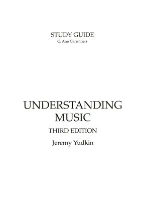 Understanding Music Cover Image