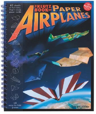 Klutz Bk of Paper Airplanes Cover Image