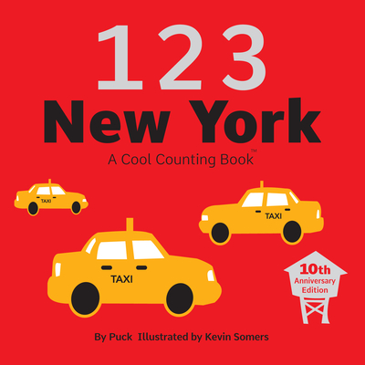 123 New York: A Cool Counting Book (Cool Counting Books) Cover Image