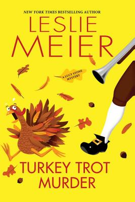 Turkey Trot Murder (A Lucy Stone Mystery #24) Cover Image
