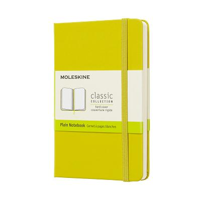 Moleskine Classic Notebook, Pocket, Plain, Yellow Dandelion, Hard Cover (3.5 x 5.5) Cover Image