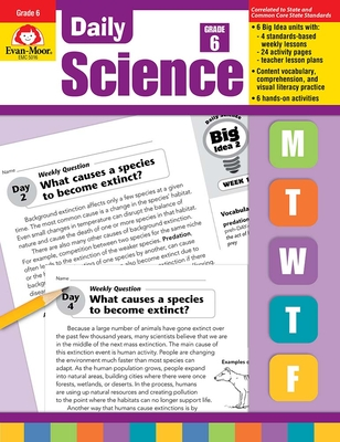 Daily Science, Grade 6+ (Daily Practice Books) Cover Image