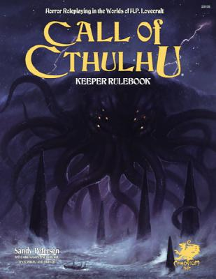 Call of Cthulhu Keeper Rulebook - Revised Seventh Edition: Horror Roleplaying in the Worlds of H.P. Lovecraft (Call of Cthulhu Roleplaying) Cover Image