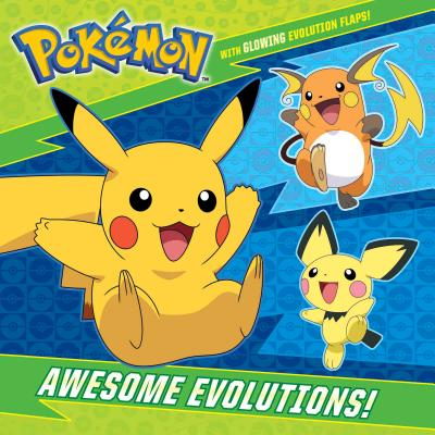 Awesome Evolutions! (Pokémon) (Pictureback(R)) Cover Image
