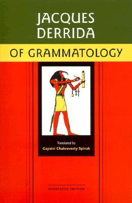 Of Grammatology Cover