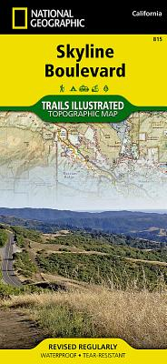Skyline Boulevard (National Geographic Trails Illustrated Map #815) Cover Image
