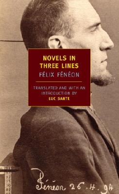 Novels in Three Lines Cover