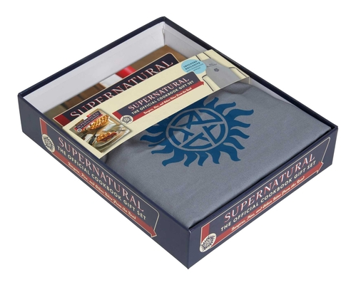 Supernatural: The Official Cookbook Gift Set Edition: Burgers, Pies, and Other Bites from the Road Cover Image