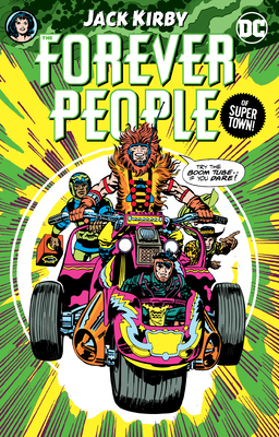 Cover for The Forever People by Jack Kirby