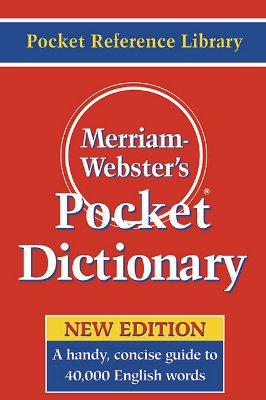 Merriam-Webster's Pocket Dictionary Cover Image