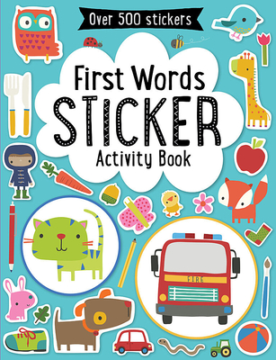 First Words Sticker Activity Book Cover Image