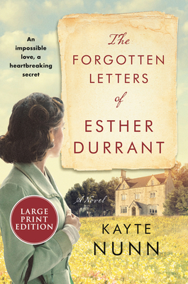 The Forgotten Letters of Esther Durrant: A Novel Cover Image