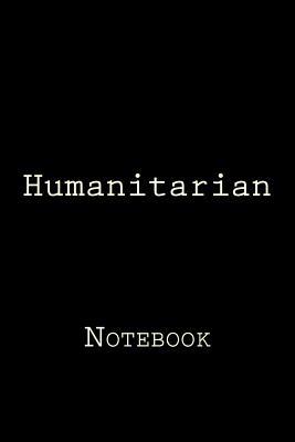 Humanitarian: Notebook Cover Image