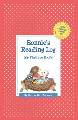 Ronnie's Reading Log: My First 200 Books (Gatst) (Grow a Thousand Stories Tall) Cover Image