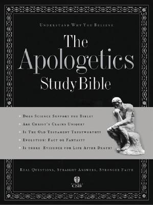 The Apologetics Study Bible Cover