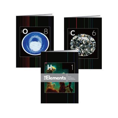 The Elements Notebooks: Set of 3 Life-Sustaining Ruled Notebooks Cover Image