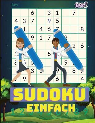 Leichtes Sudoku: Sudoku-Rätsel und Lösungen - perfekt für Anfänger Cover Image