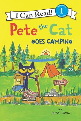 Pete the Cat Goes Camping (I Can Read Level 1) Cover Image