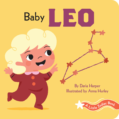 A Little Zodiac Book: Baby Leo Cover Image