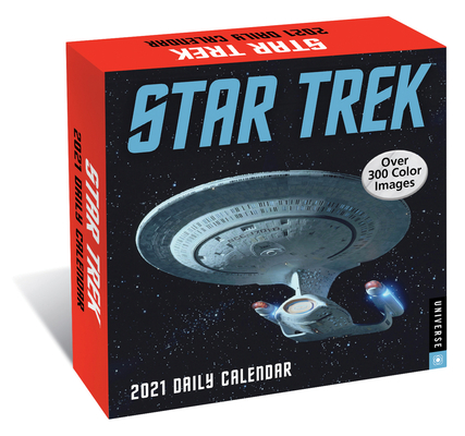 Star Trek Daily 2021 Day-to-Day Calendar Cover Image