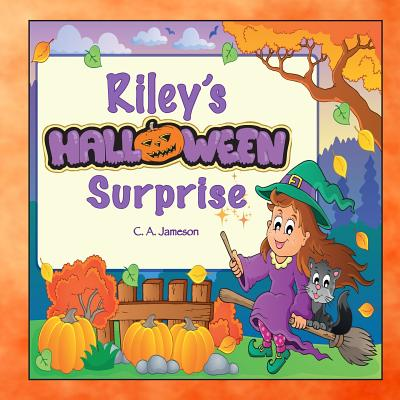 Riley's Halloween Surprise (Personalized Books for Children) Cover Image