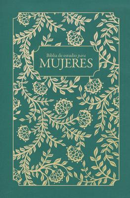 Cover for RVR 1960 Biblia de estudio para mujeres, tela verde