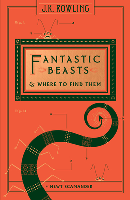 Fantastic Beasts and Where to Find Them (Hogwarts Library Book) (Harry Potter) Cover Image