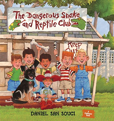 The Dangerous Snake and Reptile Club Cover