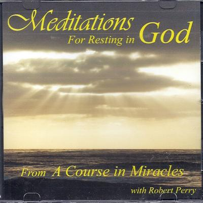 Meditations for Resting in God Cover