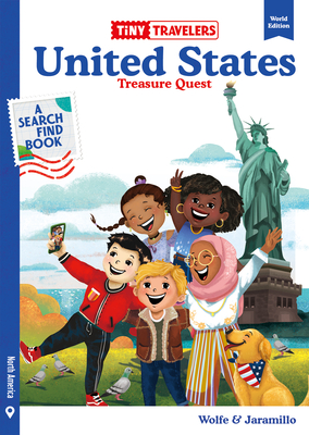 Tiny Travelers United States Treasure Quest Cover Image