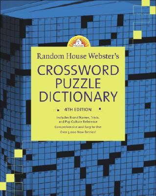 Random House Webster's Crossword Puzzle Dictionary Cover