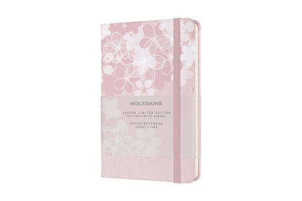 Moleskine Limited Edition Notebook Sakura, Pocket, Ruled, Dark Pink (3.5 x 5.5) Cover Image