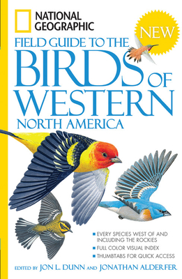 National Geographic Field Guide to the Birds of Western North America Cover