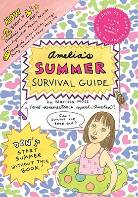 Amelia's Summer Survival Guide Cover