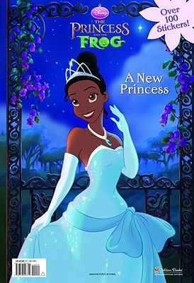 A New Princess (Disney Princess and the Frog) Cover