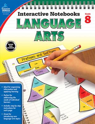 Language Arts, Grade 8 (Interactive Notebooks) Cover Image